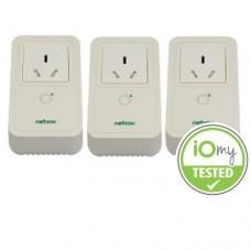 Zigbee Smart Plug 3 Pack